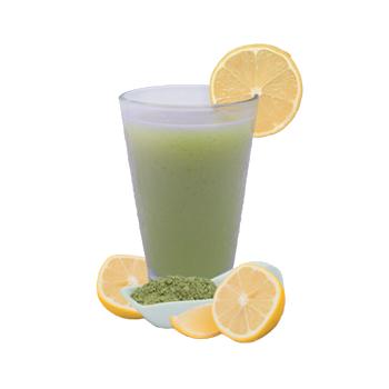 Lemon Matcha Green Tea Flavored Drink Mix